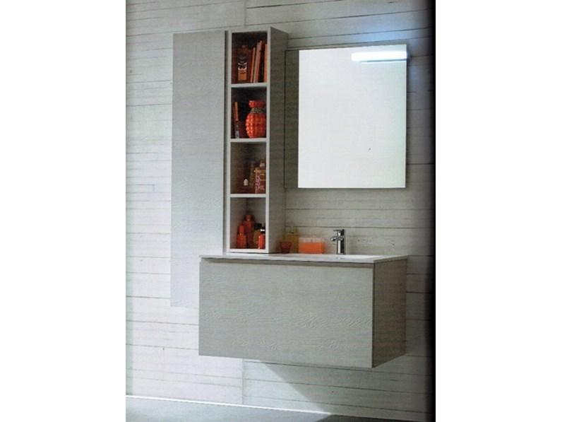 Mobile da bagno con specchio outlet scontato