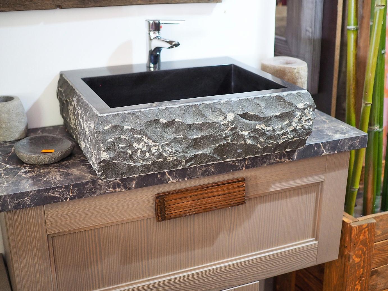 Mobile da bagno design effetto sabbia in offerta outlet - Specchi da bagno prezzi ...