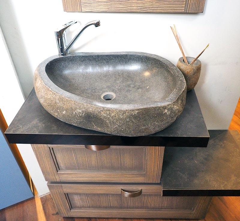 mobile da bagno doppia modulo in offerta in legno india grey ...