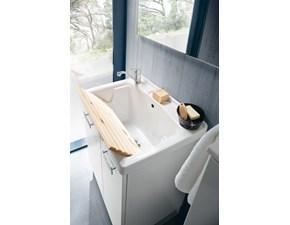 Mobile lavanderia con lavabo specchiera faretto sconto -35%