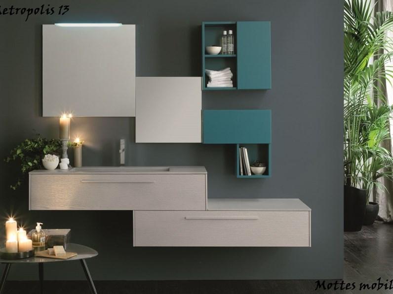 Mobile moderno arredo bagno azzurra for Arredo mobili outlet