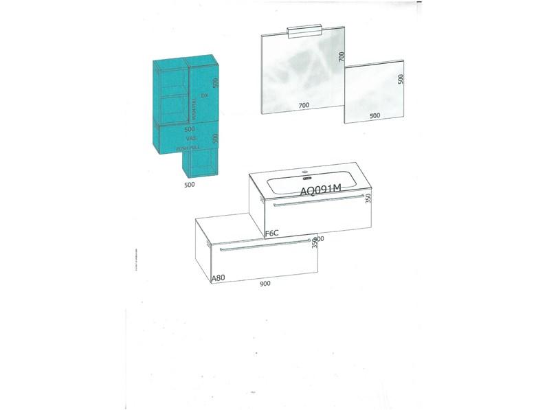 Mobile moderno arredo bagno azzurra - Azzurra mobili da bagno ...