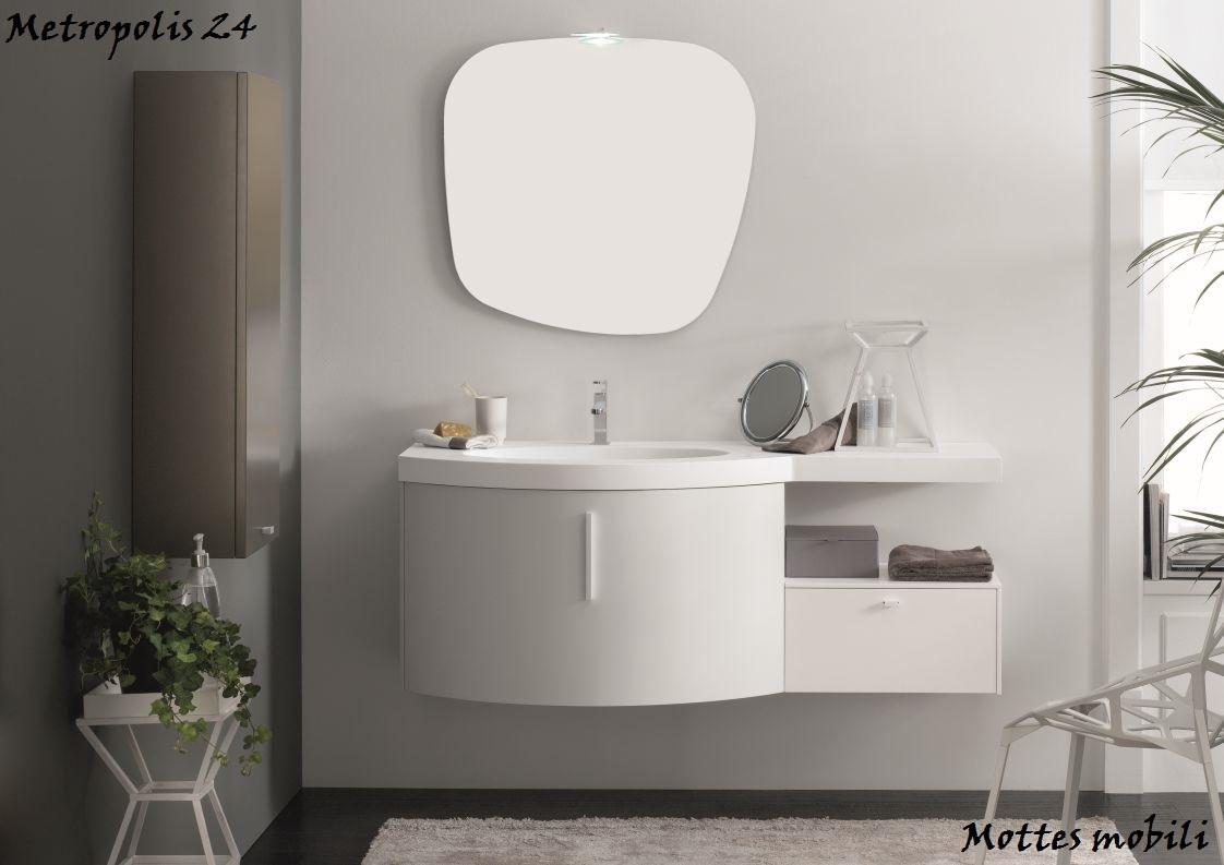 Mobile moderno sospeso finiture a scelta scontato del 50 for Mobile bagno moderno sospeso prezzi