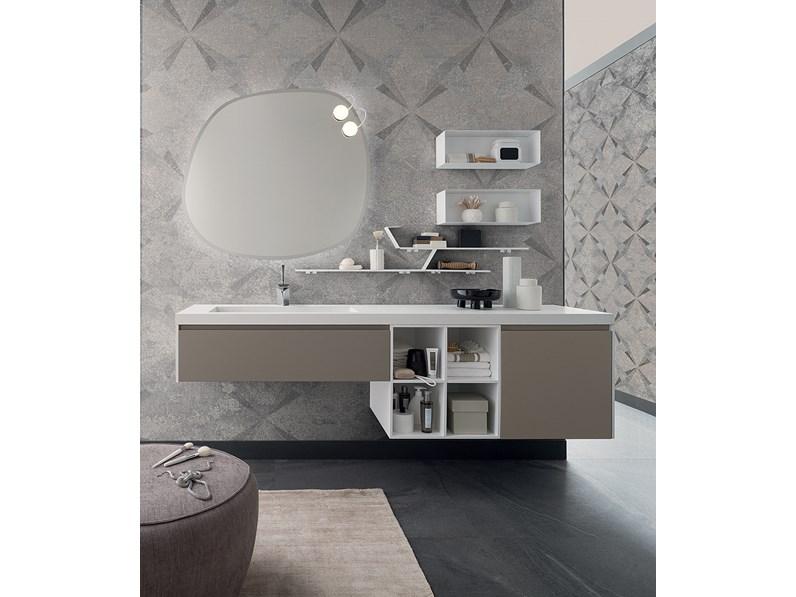 Mobile per bagno con lavabo integrato, by RAB arredobagno, nuovo ...