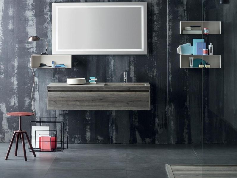 Mobile per bagno con specchio illuminato by rab - Specchio per il bagno ...