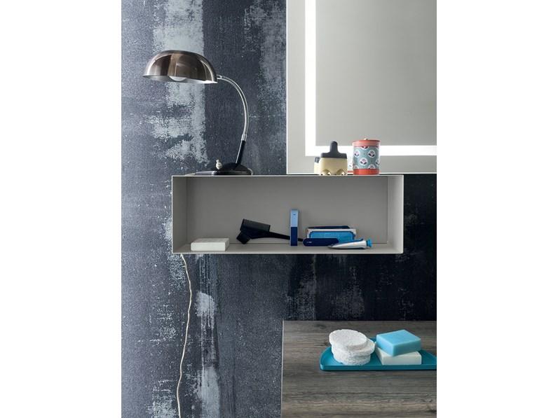 Mobile per bagno con specchio illuminato by rab - Mobile a specchio per bagno ...