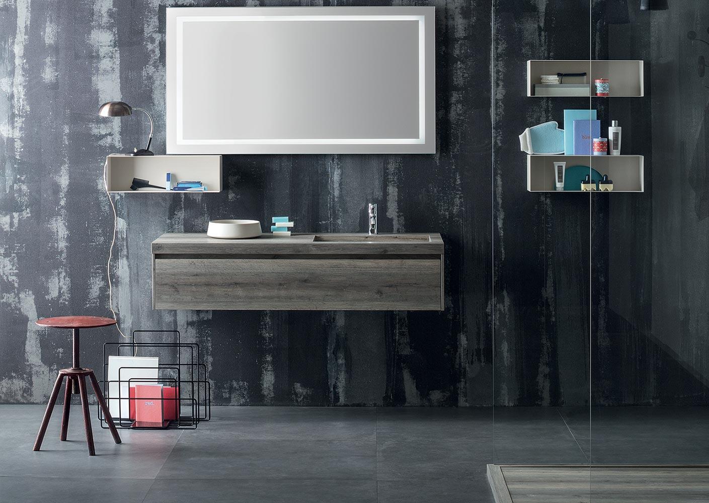 Mobiletto con specchio per bagno voffcacom terrazza - Mobiletto con specchio per bagno ...