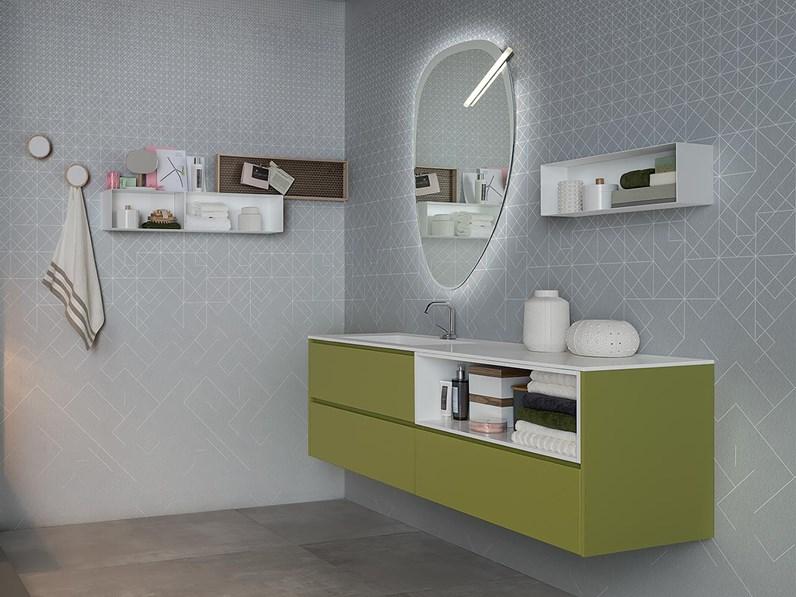 Mobile per bagno, sospeso, by RAB arredobagno, nuovo a prezzo scontato