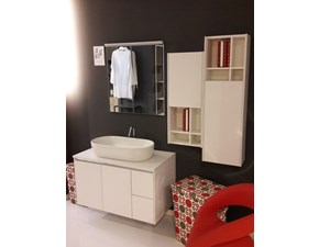 Mobile per il bagno Arcom Ego step nodo bianco a prezzi outlet