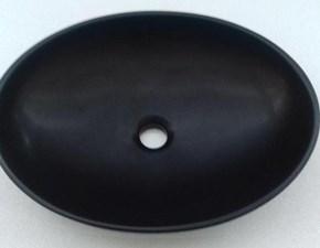 Mobile per il bagno Arlex Lavabo shell 2 nero opaco  con forte sconto