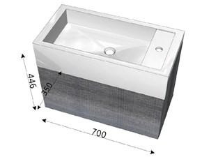 Mobile per il bagno Arlex Trenta5 a prezzi outlet