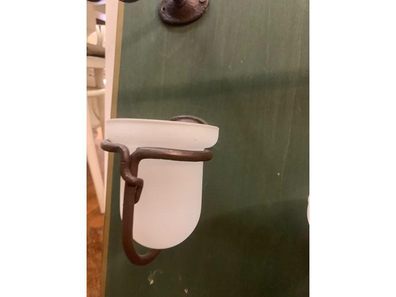 Mobile per il bagno Artigianale Set accessori bagno in ferro battuto a prezzi outlet