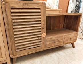 Mobile per il bagno Artigianale Vintage - teak massello in offerta