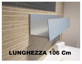Mobile per il bagno Boffi Boffi mensola a ribalta in alluminio anodizzato - l.106x19xh20 circa - ggca01 con forte sconto