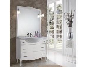 Mobile per il bagno classico Artigianale Beatrice bianco 105cm il miglior prezzo