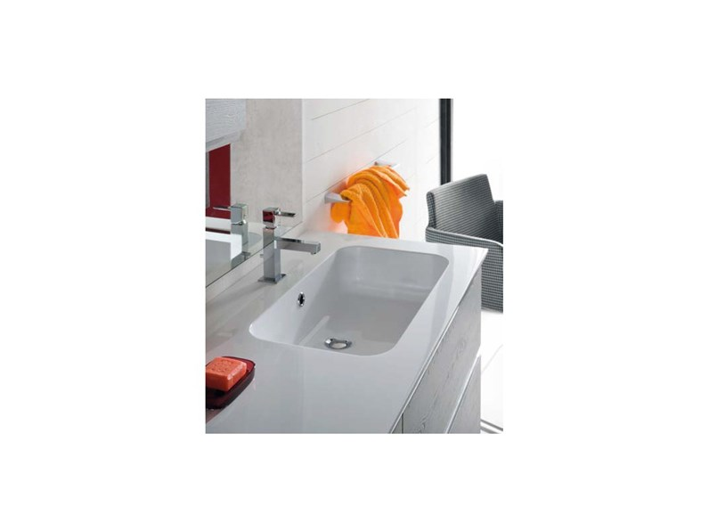 Mobile per il bagno compab bgo a prezzi outlet for Arredo bagno prezzi outlet