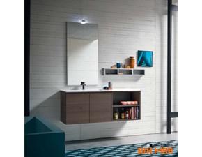 Mobile per il bagno Compab Mobile con specchiera verticale con forte sconto