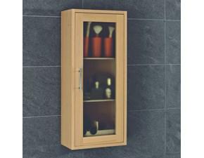 Mobile per il bagno Euro bagno Pensile rovere tinto noce o wengé a prezzi outlet