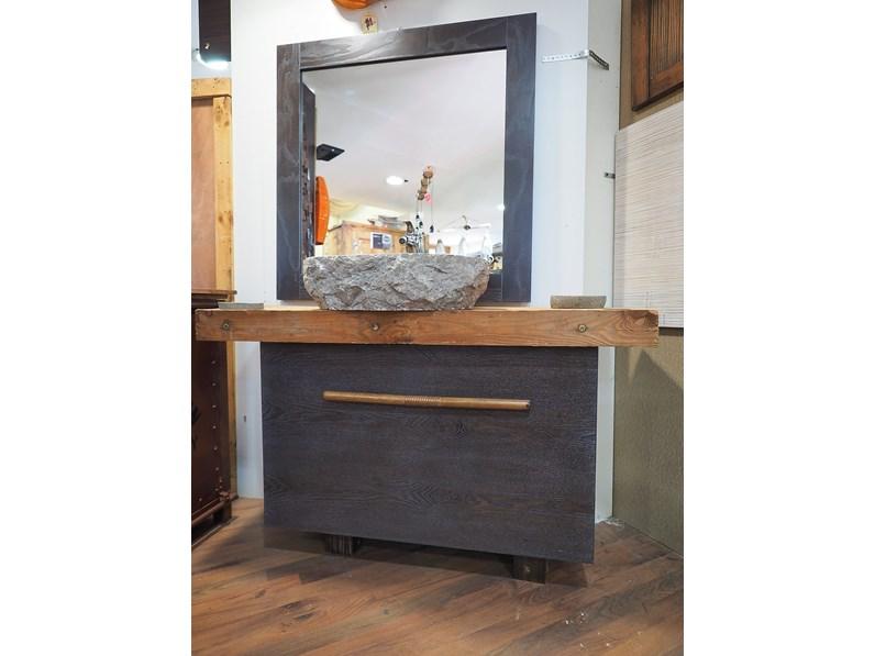 Mobile per il bagno Nuovi mondi cucine Mobile bagno legno wenghe ...