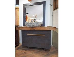 Mobile per il bagno Nuovi mondi cucine Mobile bagno legno wenghe' con forte sconto