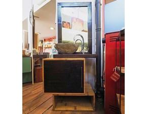 Mobile per il bagno Outlet etnico Mobile bagno etno bambu e legno con forte sconto