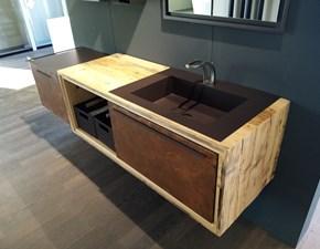 Mobile per la sala da bagno Archeda Wood a prezzo Outlet