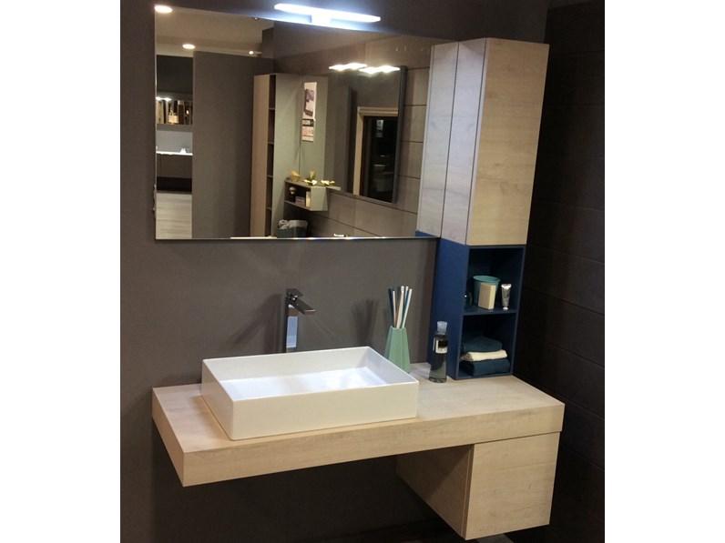 Mobile per la sala da bagno artigianale comp12 a prezzo scontato for Mobile bagno prezzo