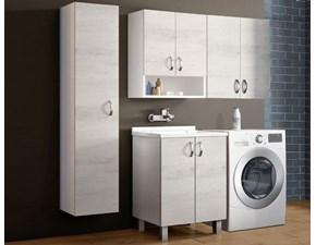 Mobile per la sala da bagno Artigianale Composizione 14 a prezzo Outlet