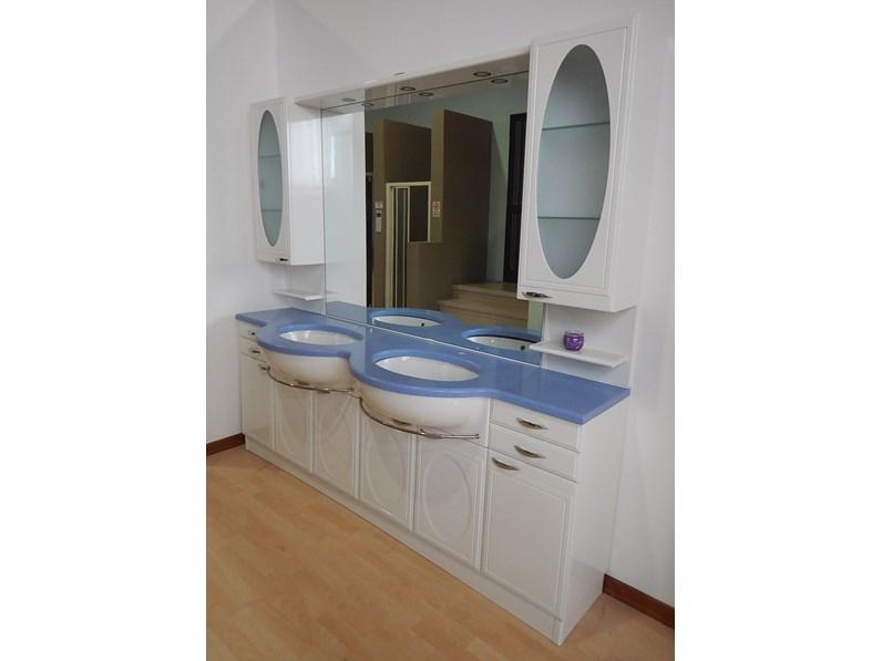 Mobile per la sala da bagno artigianale liberty in offerta for Fornasari arredamenti