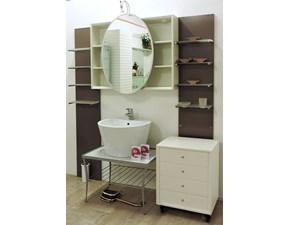 Mobile per la sala da bagno Artigianale Modul wood in Offerta Outlet