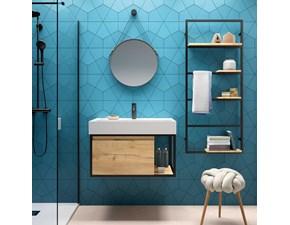 Mobile per la sala da bagno Artigianale Vinci 80 a prezzo scontato