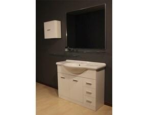 Mobile per la sala da bagno Artigianale White a prezzo scontato