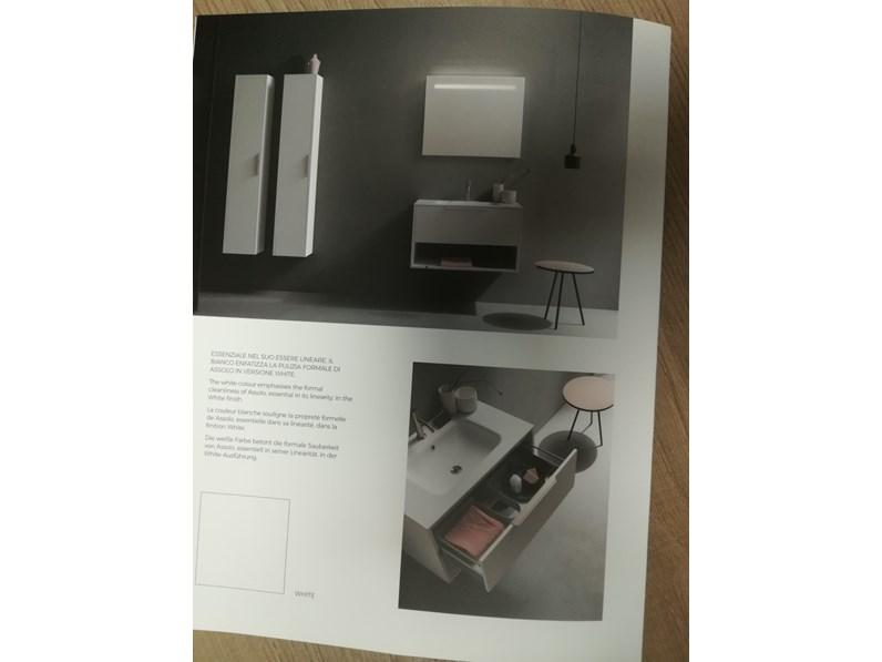 Mobile per la sala da bagno cerasa assolo a prezzo outlet - Piccole cassettiere per bagno ...