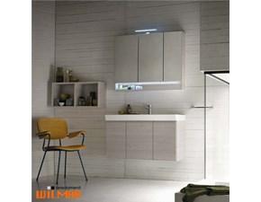 Mobile per la sala da bagno Compab B-go sospeso con lavabo ceramica in Offerta Outlet