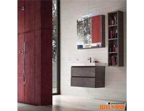 Mobile per la sala da bagno Compab Composizione sospesa in Offerta Outlet