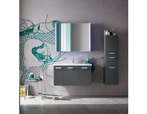 Mobile bagno Compab con specchiera contenitore in Offerta Outlet