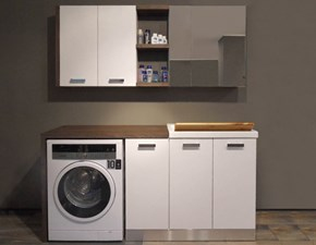Mobile per la sala da bagno Compab F3 - lavanderia a prezzo Outlet