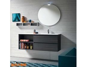 Mobile per la sala da bagno Compab Mobiletto con specchiera sfera a prezzo scontato