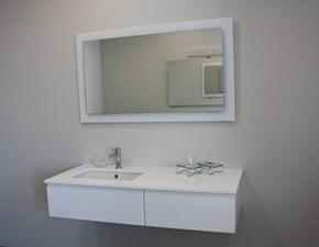 Mobile per la sala da bagno Euro bagno Piatto doccia in cristallo bianco con righe cm 80x180 in Offerta Outlet
