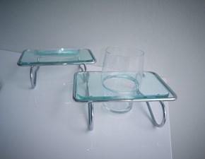 Mobile per la sala da bagno Euro bagno Portasapone eportabicchiere appoggio a prezzo Outlet