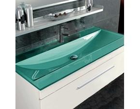 Mobile per la sala da bagno Euro bagno Vascone bronzo metallizzato a prezzo Outlet