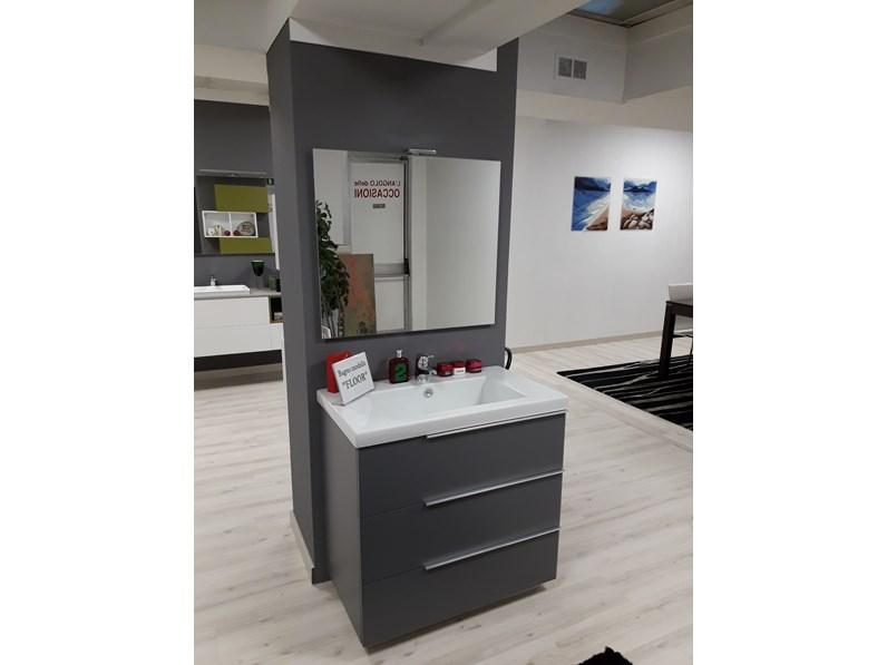 Mobile per la sala da bagno Eurobagni Floor a prezzo Outlet