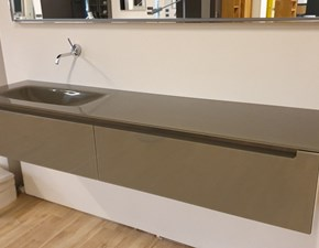 Mobile per la sala da bagno Falper Edge glass in Offerta Outlet