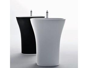 Mobile per la sala da bagno Falper Lavabo scoop a prezzo Outlet