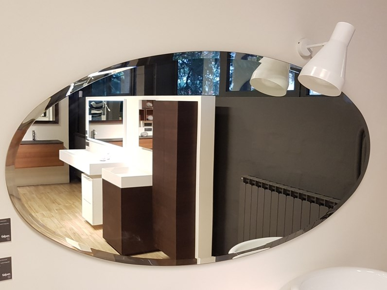 Mobile per la sala da bagno falper specchi a prezzo outlet for Sala da bagno design