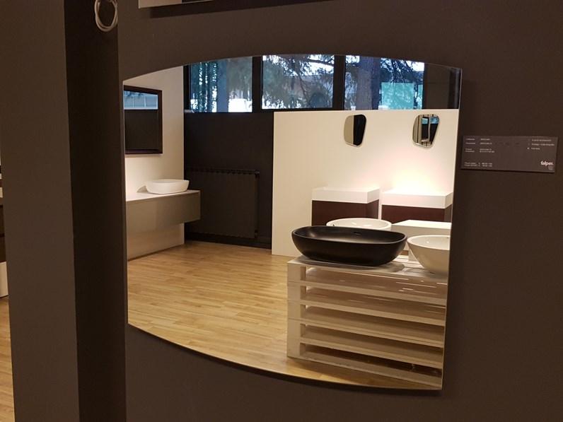 Mobile per la sala da bagno falper specchio a prezzo scontato - Mobile bagno prezzo ...
