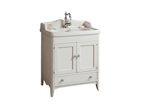 Mobile bagno firenze 85x50 cm scontato 40 for Gaia arredo bagno