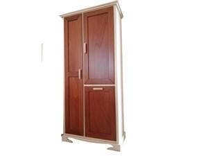 Mobile per la sala da bagno Mirandola Art. 28-mobile lavanderia con cestone  a prezzo Outlet