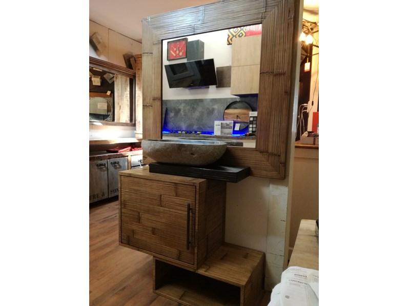 Mobile per la sala da bagno outlet etnico bagno essential for Sala da bagno design
