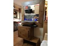 Mobile per la sala da bagno outlet etnico bagno essential bambu design a prezzo scontato - Mobile bagno etnico ...
